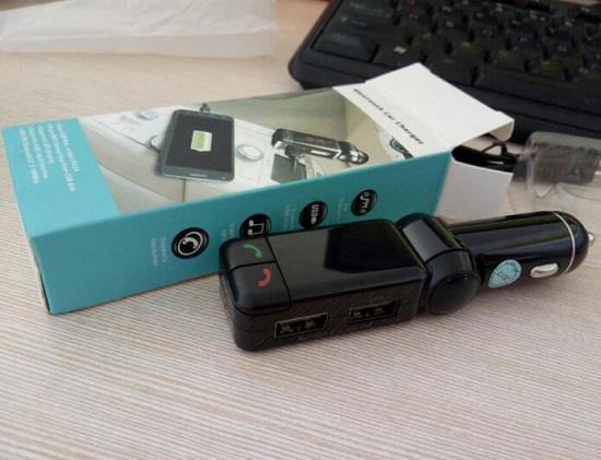 车载蓝牙FM发射器可以充当车载电话吗