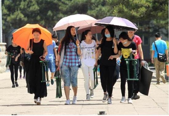 如何挑选遮阳伞