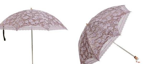 蕾丝遮阳伞