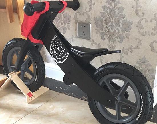 maxsun木制儿童平衡车