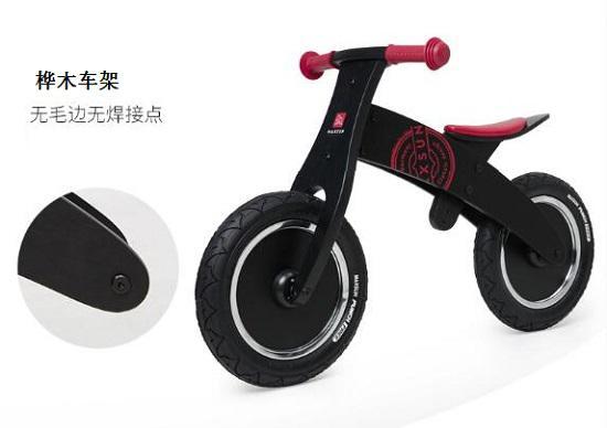 maxsun木制儿童平衡车的工艺细节
