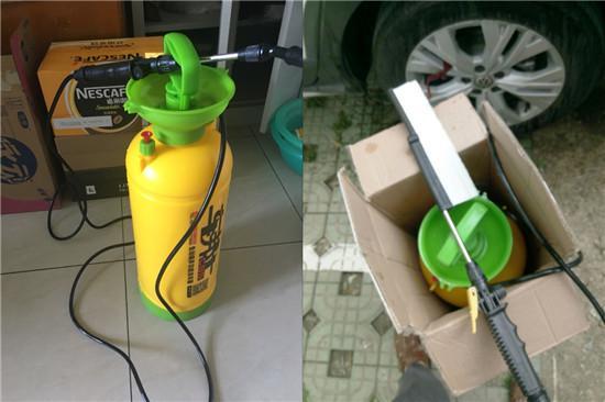 手动洗车器