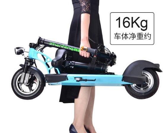 阵风越野型电动滑板车
