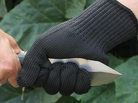 混纺钢丝手套