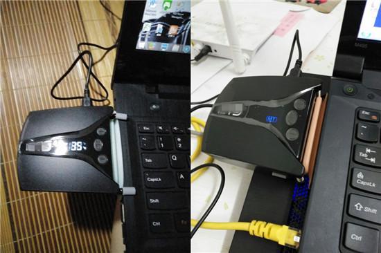 侧吸式笔记本电脑散热器