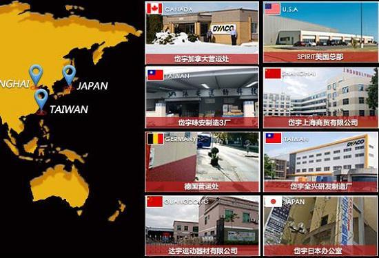 岱宇全球子公司