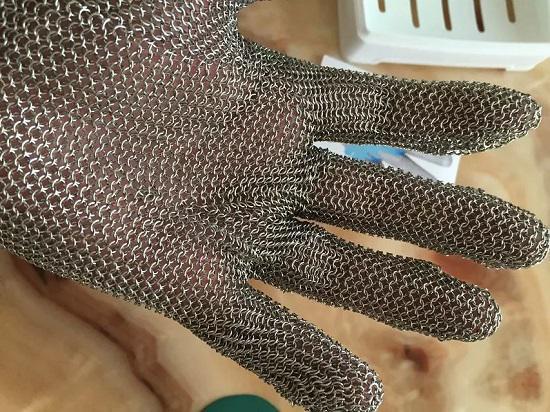 纯钢丝手套