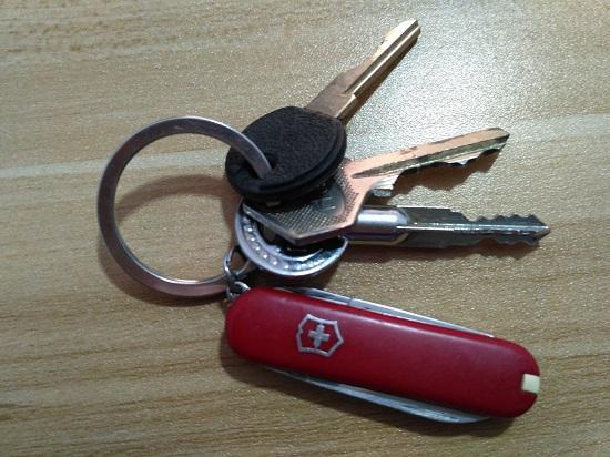 钥匙环上的瑞士军刀