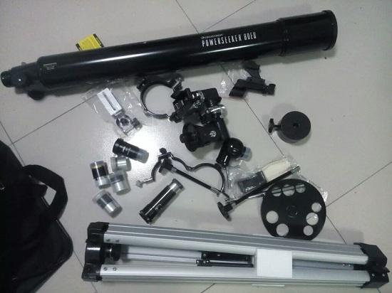 天文望远镜的组成部件
