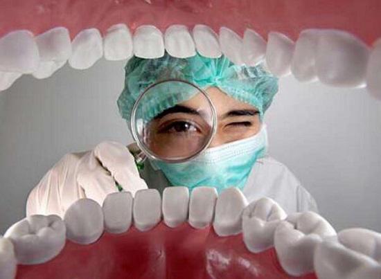牙齿和牙龈