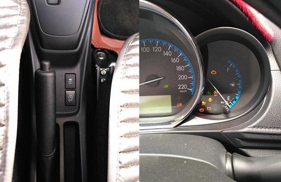发动机启停按键及图标