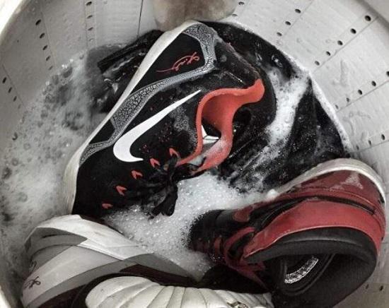 运动鞋可以用洗衣机洗吗