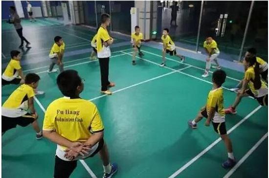孩子的热身运动