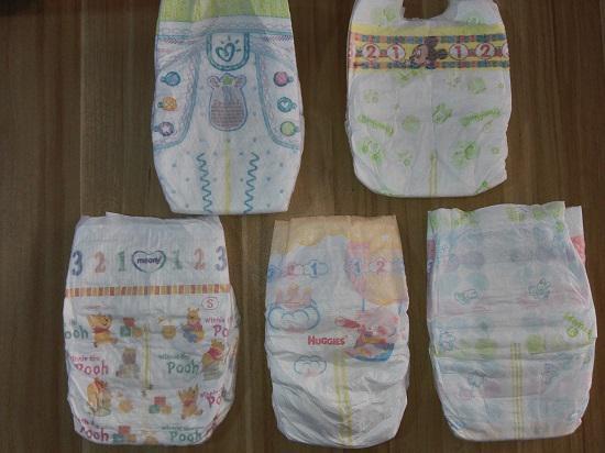 几款热销纸尿裤产品评测