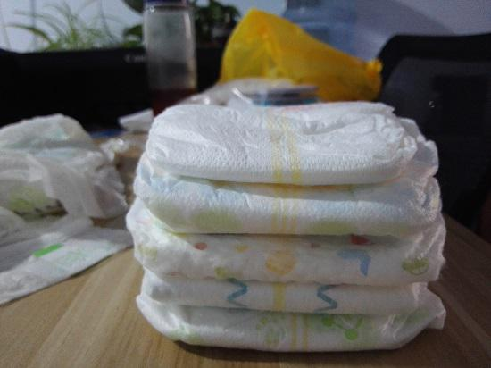 纸尿裤的厚度