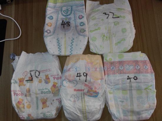 蒸发纸尿裤