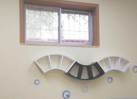 壁挂式置物架