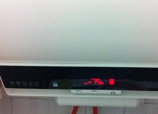 电热水器的温度设置过高