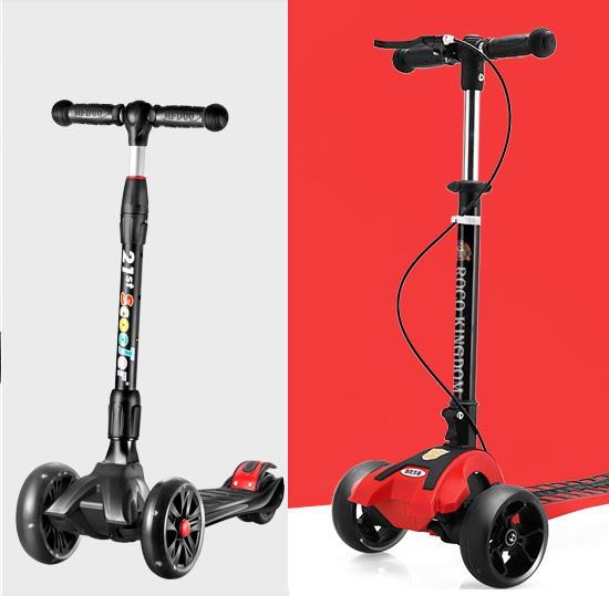 腾讯与21st scooter儿童滑板车哪个好