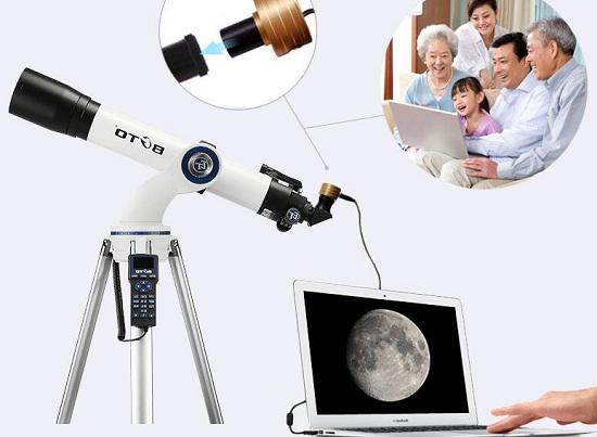 电子目镜使用示意图