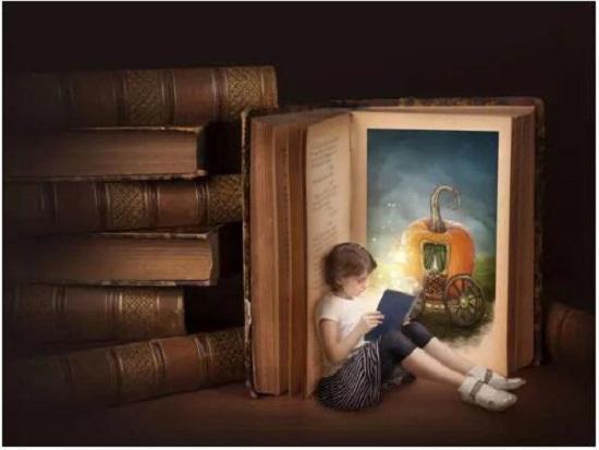 阅读的孩子