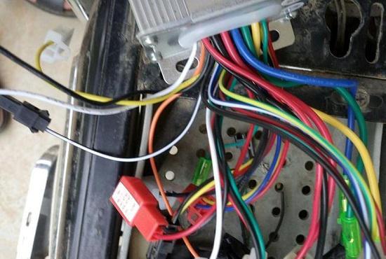 电动自行车控制电路