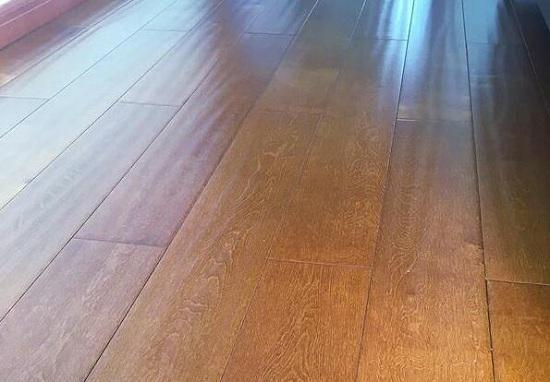 地板蜡使用后的效果