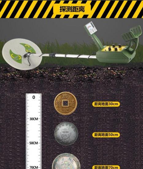 金属探测器的探测能力