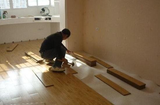 木地板施工