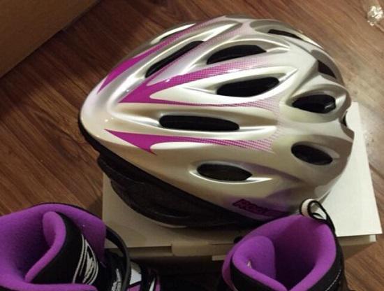 通风效果良好的轮滑头盔