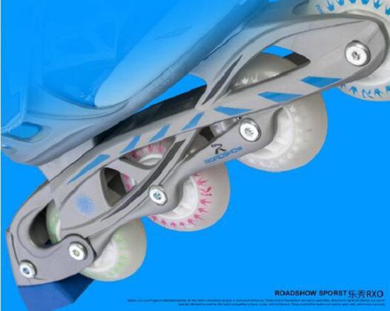 乐秀RXO儿童轮滑鞋的刀架
