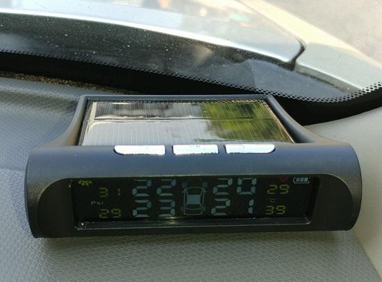 太阳能胎压监测仪