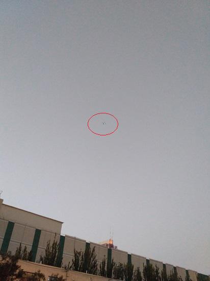 高空飞行的无人机