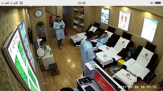 萤石C2C网络监控摄像头的拍摄效果
