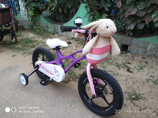 """优贝""""星际飞车""""儿童自行车试用感受"""