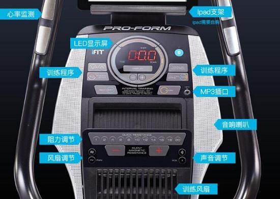 爱康74016健身车仪表盘