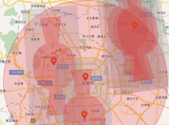 北京的禁飞区
