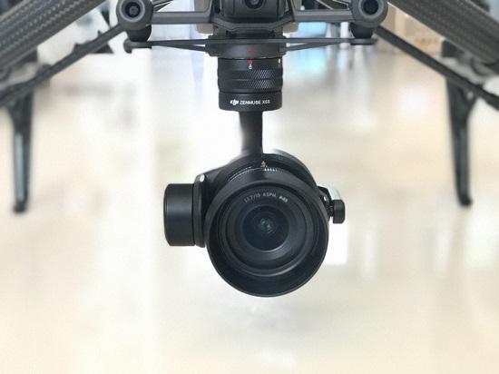 大疆悟(Inspire)2无人机的云台相机