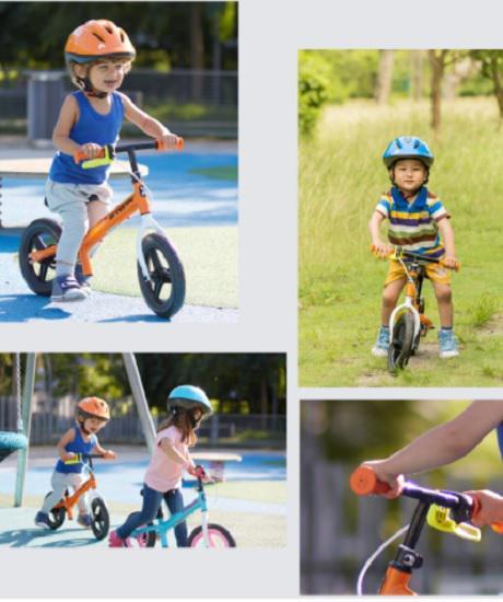 迪卡侬儿童滑步车
