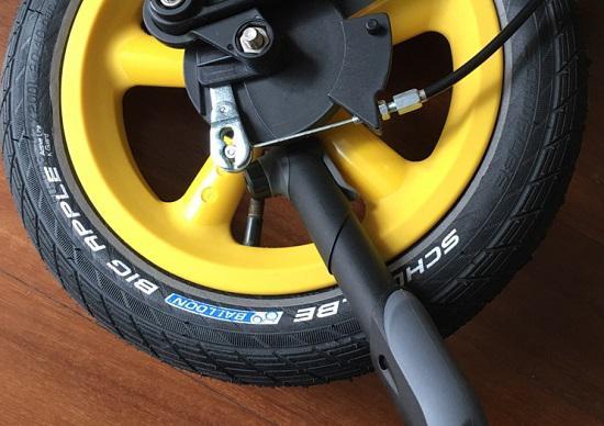 firstbike滑步车的轮胎