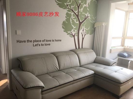 顾家和林氏木业的沙发对比