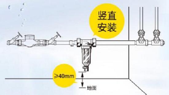 前置过滤器安装原则