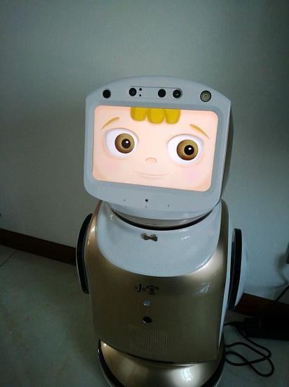 自带触控脸的小宝机器人