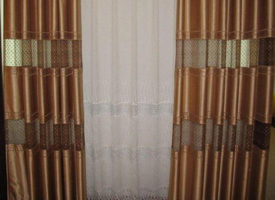 网上购买的窗帘
