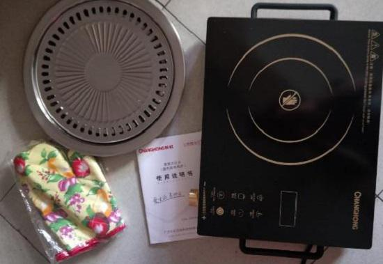电陶炉及烤盘