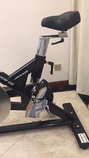 动感单车的可调式座椅