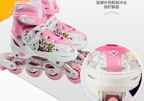 铠甲勇士KJ331儿童轮滑鞋