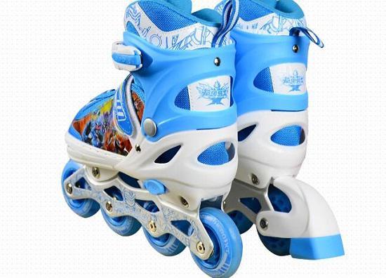 铠甲勇士KJ333儿童轮滑鞋