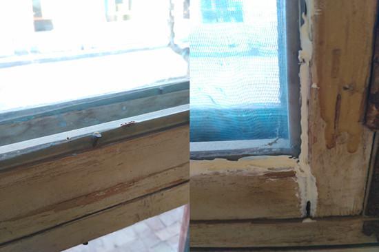 木质窗户施工
