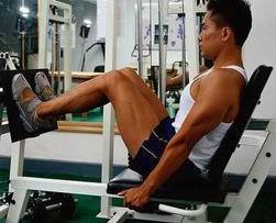 腿部蹬踏训练
